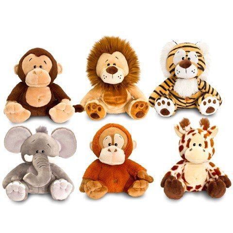 Animale de plus Anizoomals Keel Toys 18 cm